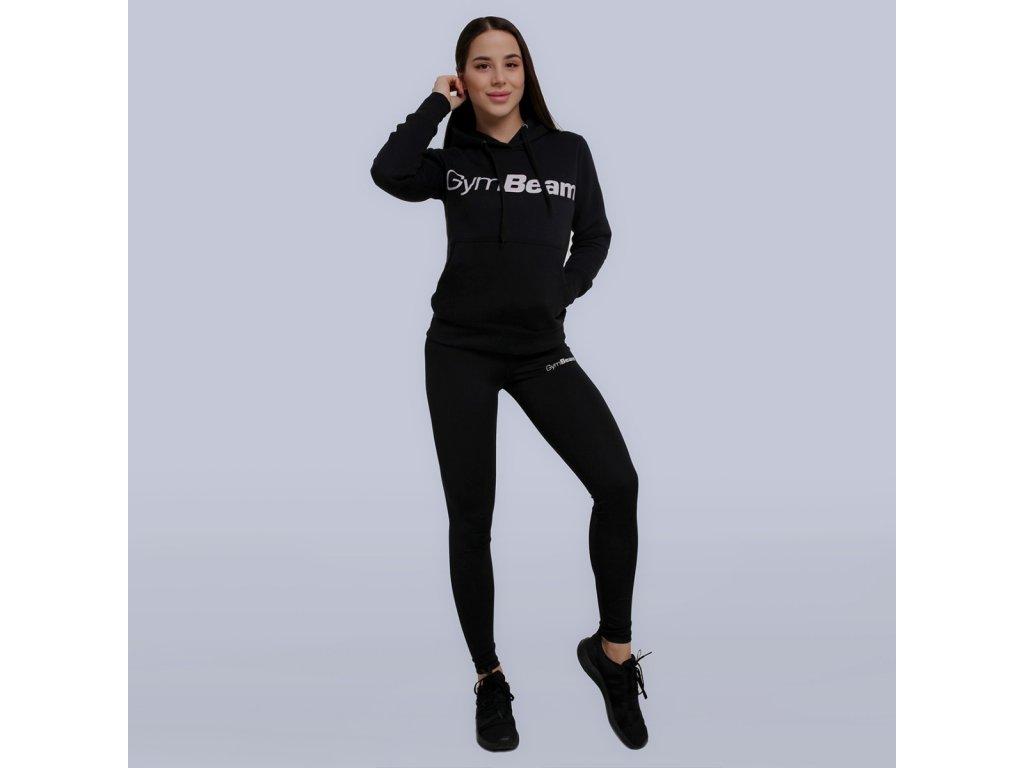 Dámská mikina Athlete Black - GymBeam