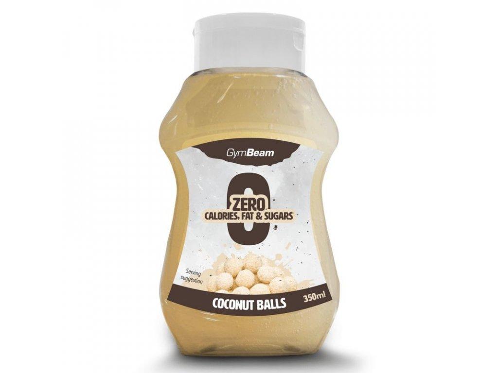 Bezkalorický sirup Coconut Balls 350 ml - GymBeam