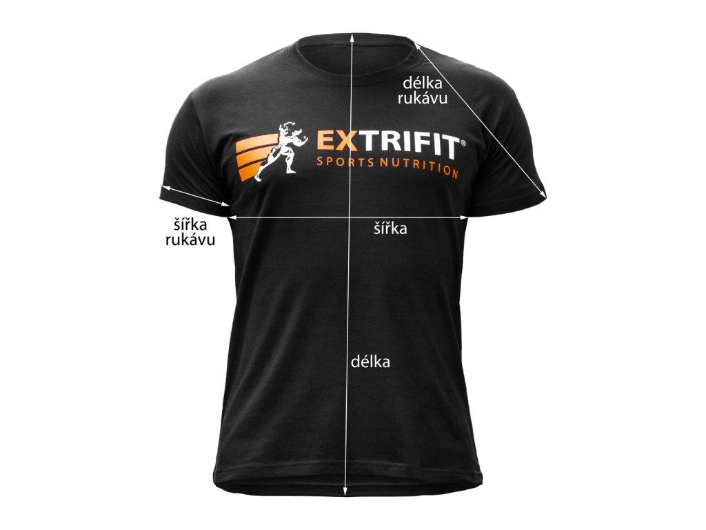 Triko Extrifit pánské - Klasik 02 (Barva oblečení Černá, Velikost XXL)