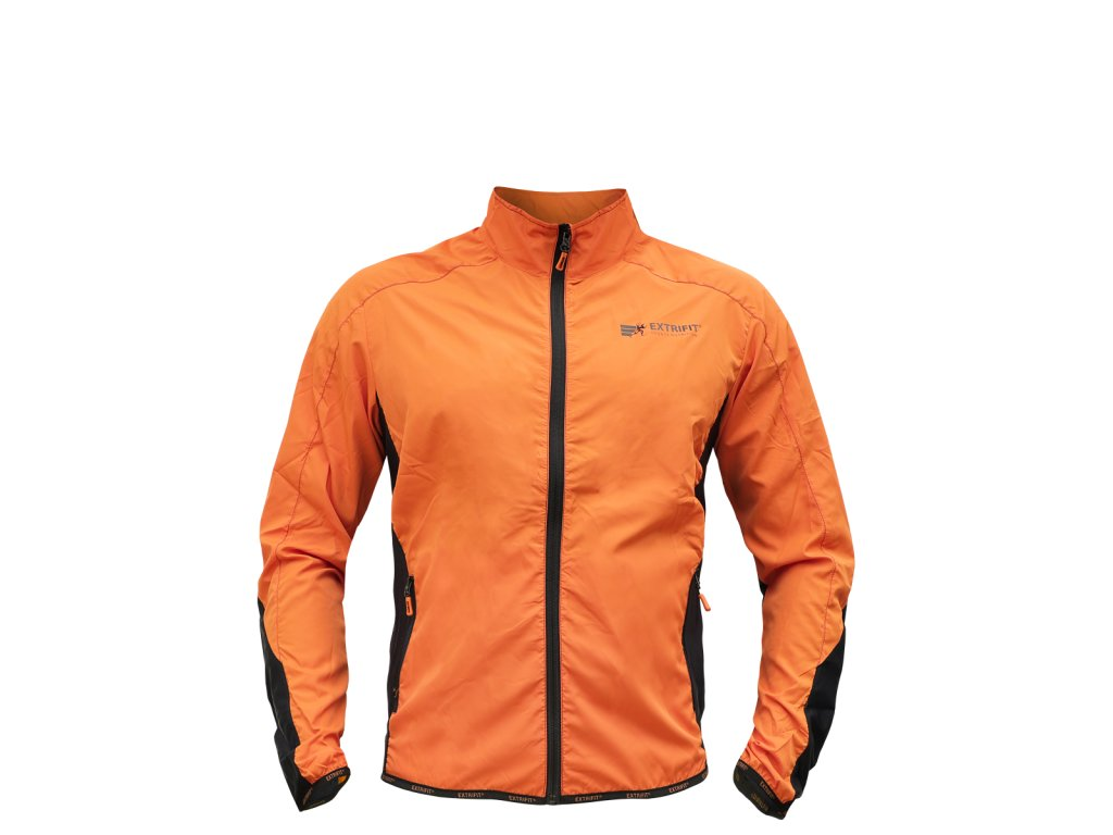 Bunda Extrifit pánská 44 (Barva oblečení Oranžová, Velikost XXL)
