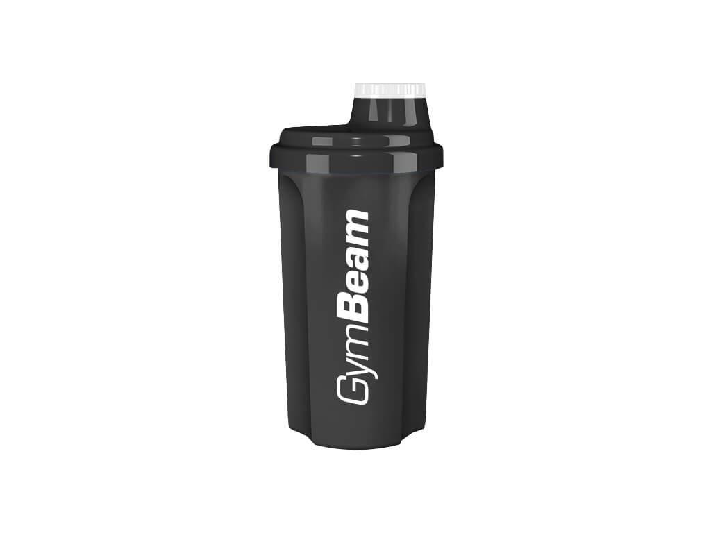 Šejkr černý 700 ml - GymBeam