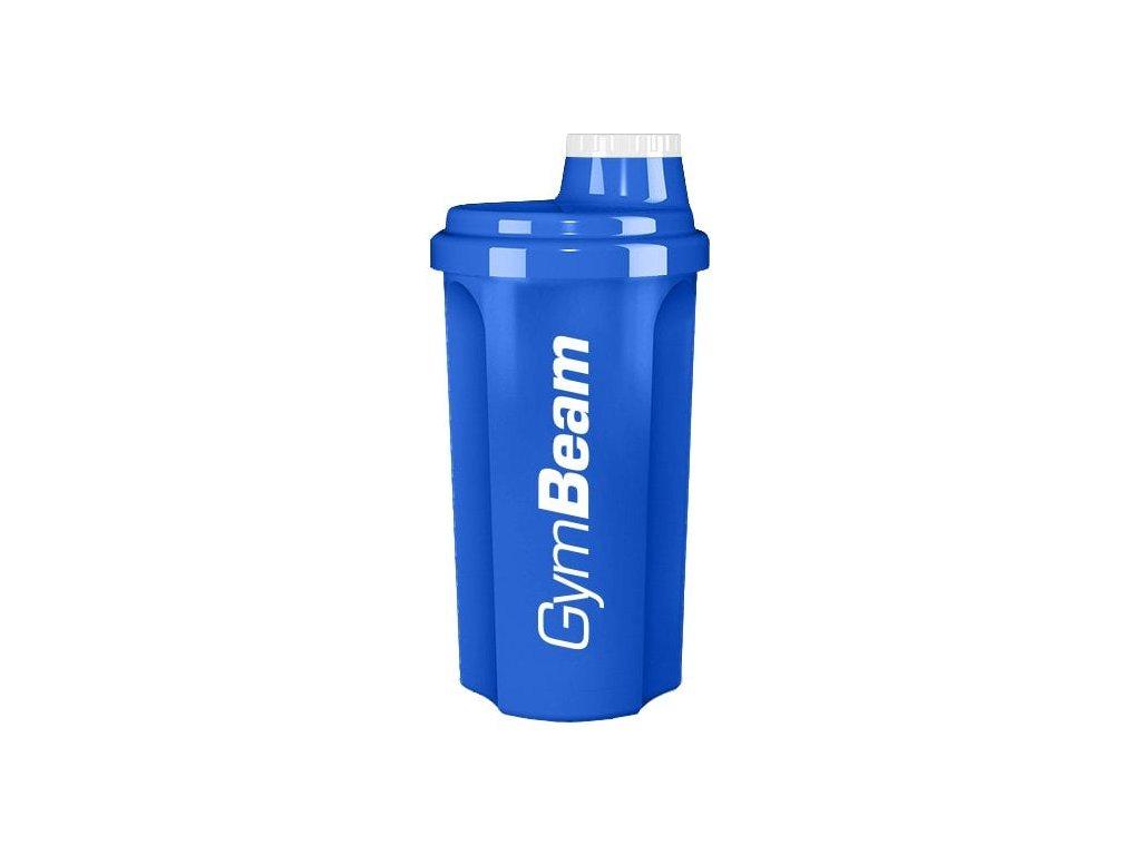 Šejkr modrý 700 ml - GymBeam