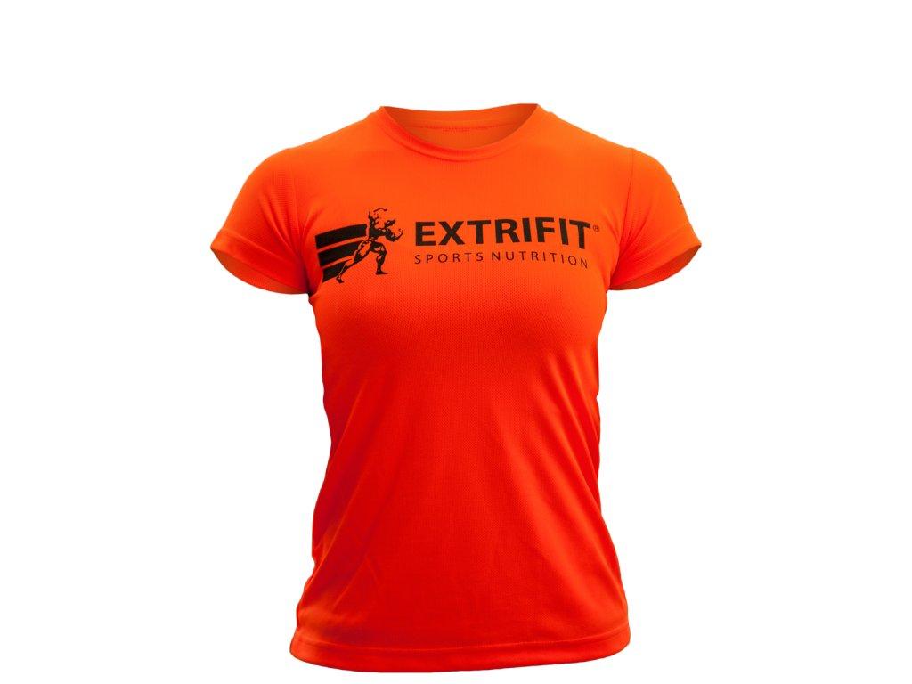 Triko Extrifit dámské 10 (Barva oblečení Oranžová, Velikost XS)