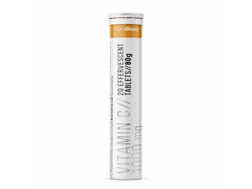 Vitamín C 1000 mg - GymBeam - 20 tabs