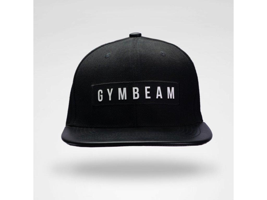 Kšiltovka Superior Snapback Black - GymBeam