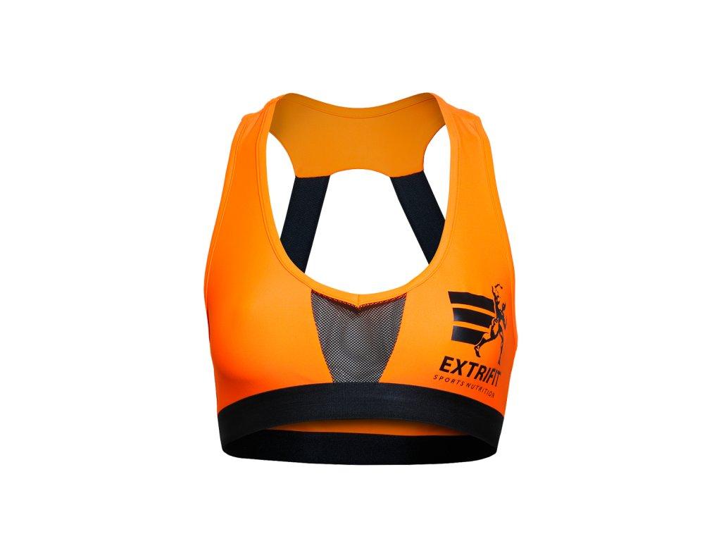 Sportovní podprsenka Extrifit 29 (Barva oblečení Oranžová)