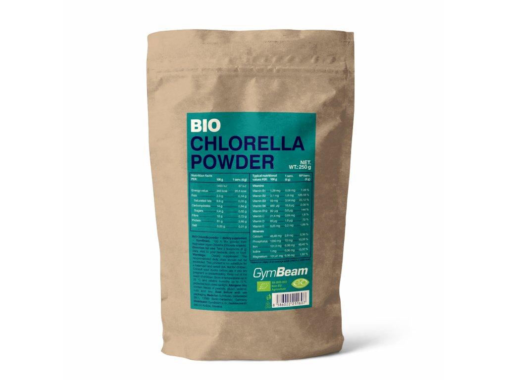 Bio Chlorella prášek - GymBeam
