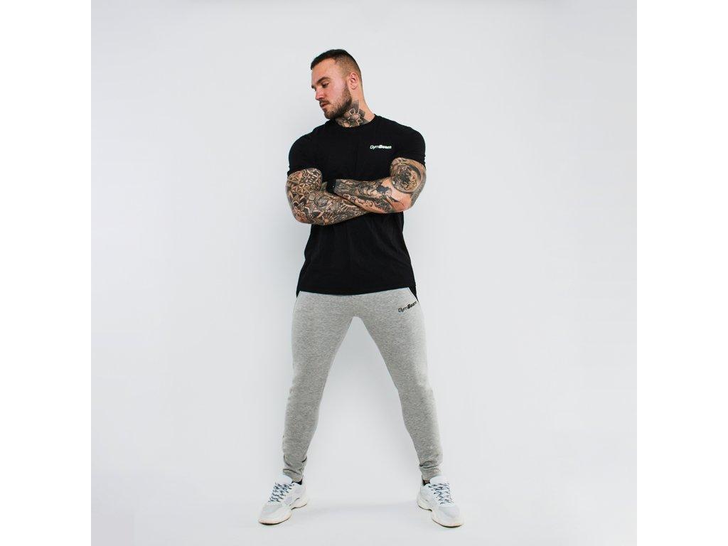 Tepláky Slimfit Grey - GymBeam