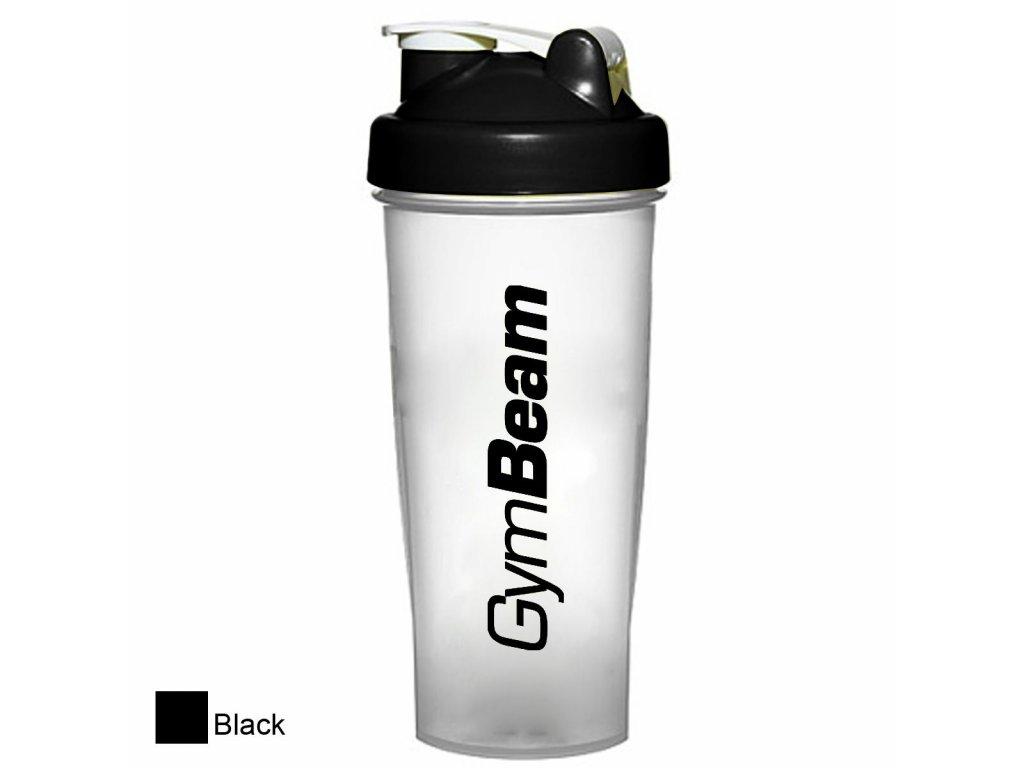 Šejkr Blend Bottle průsvitně-černý 700 ml - GymBeam