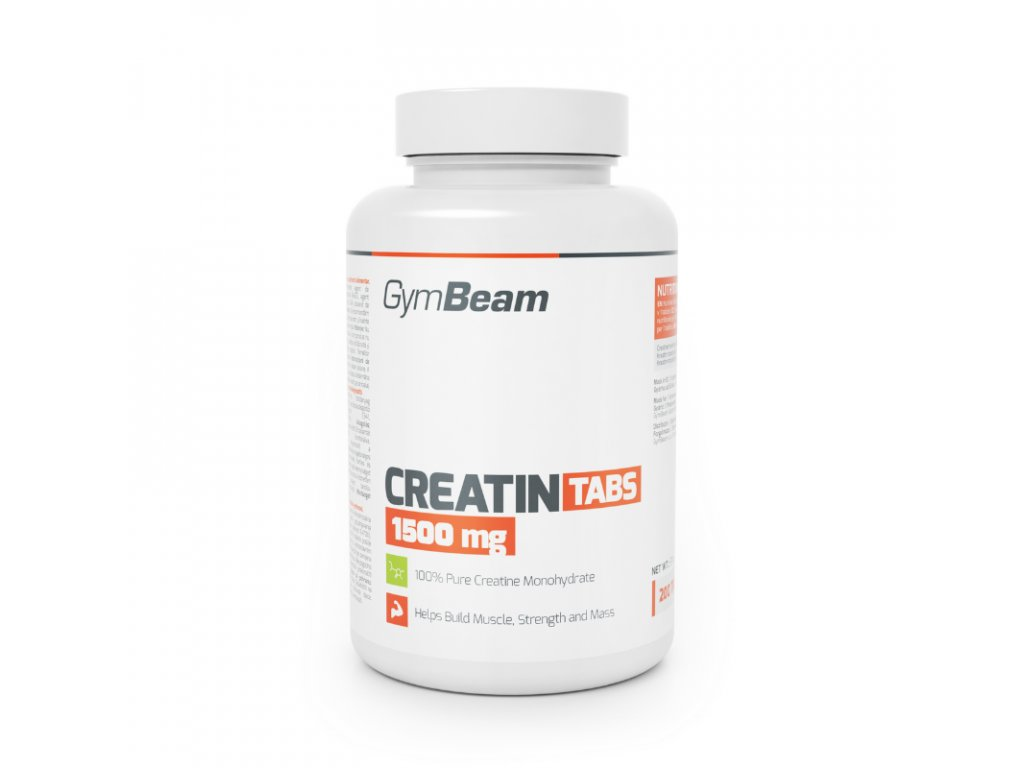 Kreatin TABS 1500 mg - GymBeam