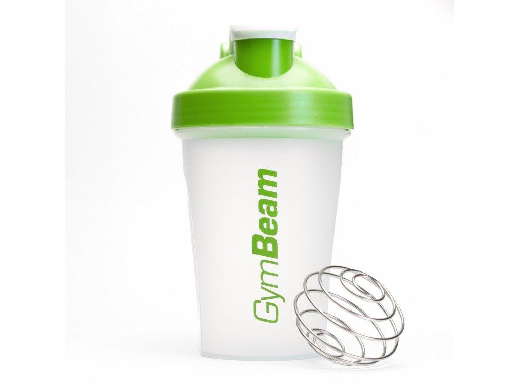 Šejkr Blend Bottle průsvitně-zelený 400 ml - GymBeam