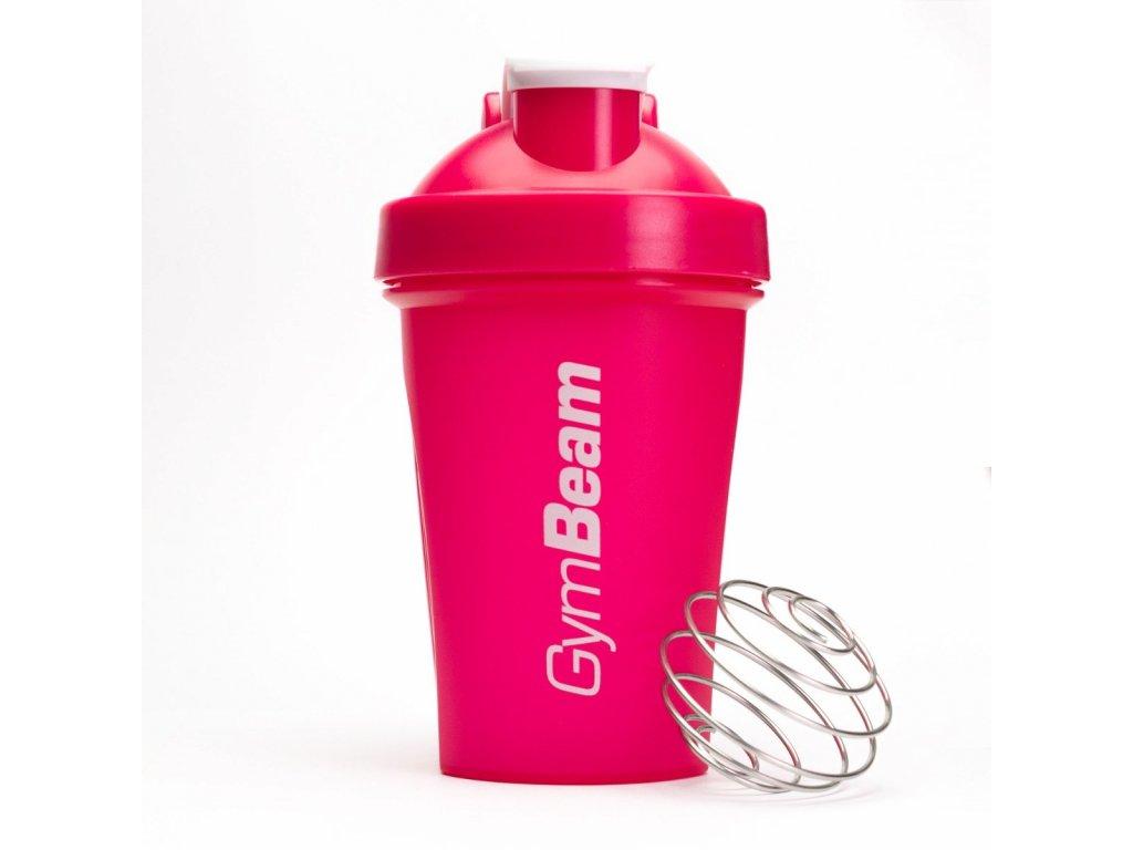 Šejkr Blender Bottle Pink 400 ml - GymBeam