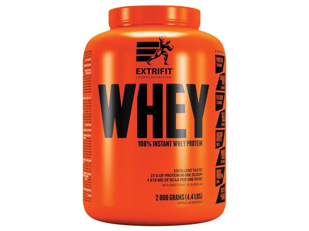 100 % Whey Protein (Balení 2000g, Příchuť Vanilka)