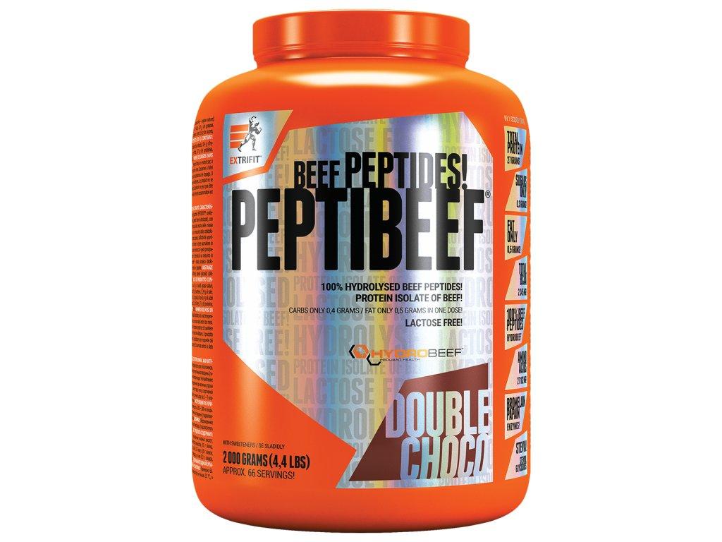 PeptiBeef® (Balení 2000g, Příchuť Dvojitá čokoláda)