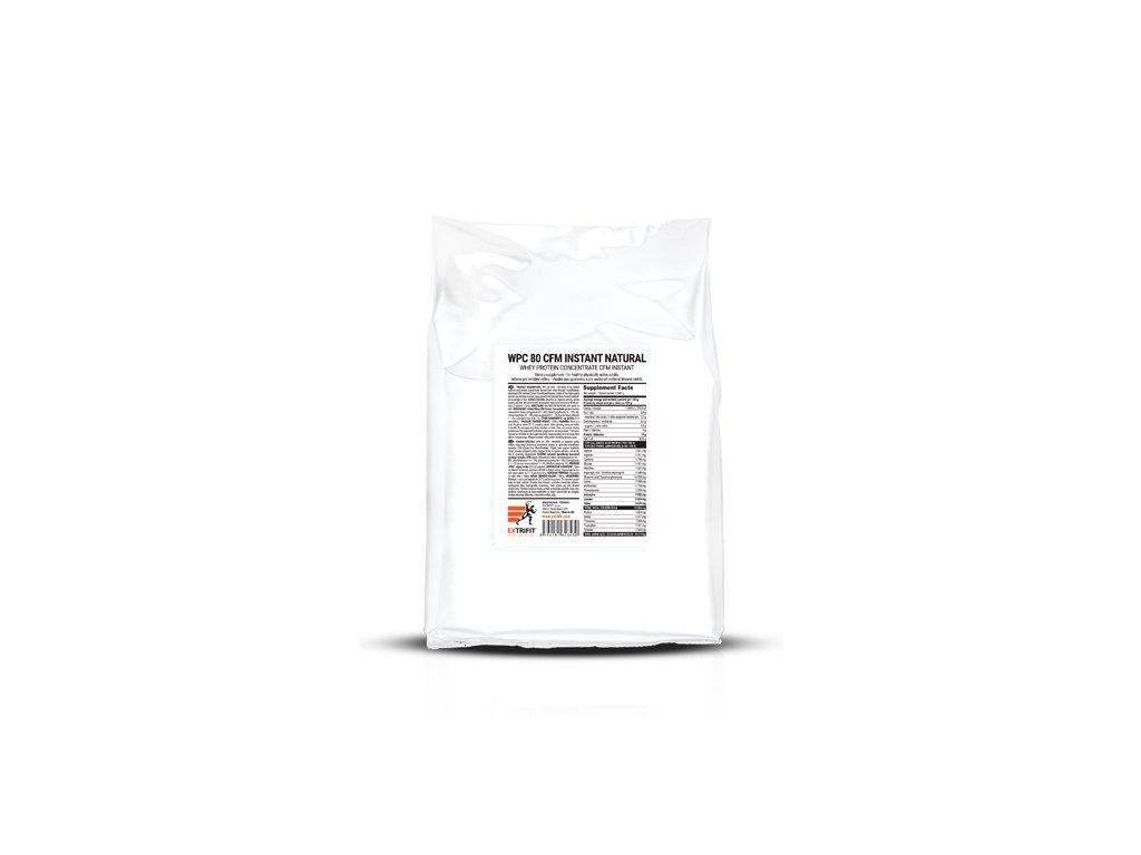 WPC 80 Natural - syrovátkový koncentrát (Balení 1000g, Příchuť Natural)