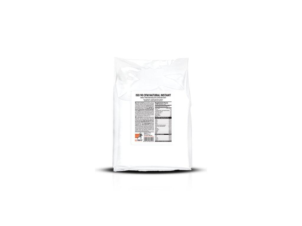 Iso 90 Natural - syrovátkový izolát (Balení 1000g, Příchuť Natural)