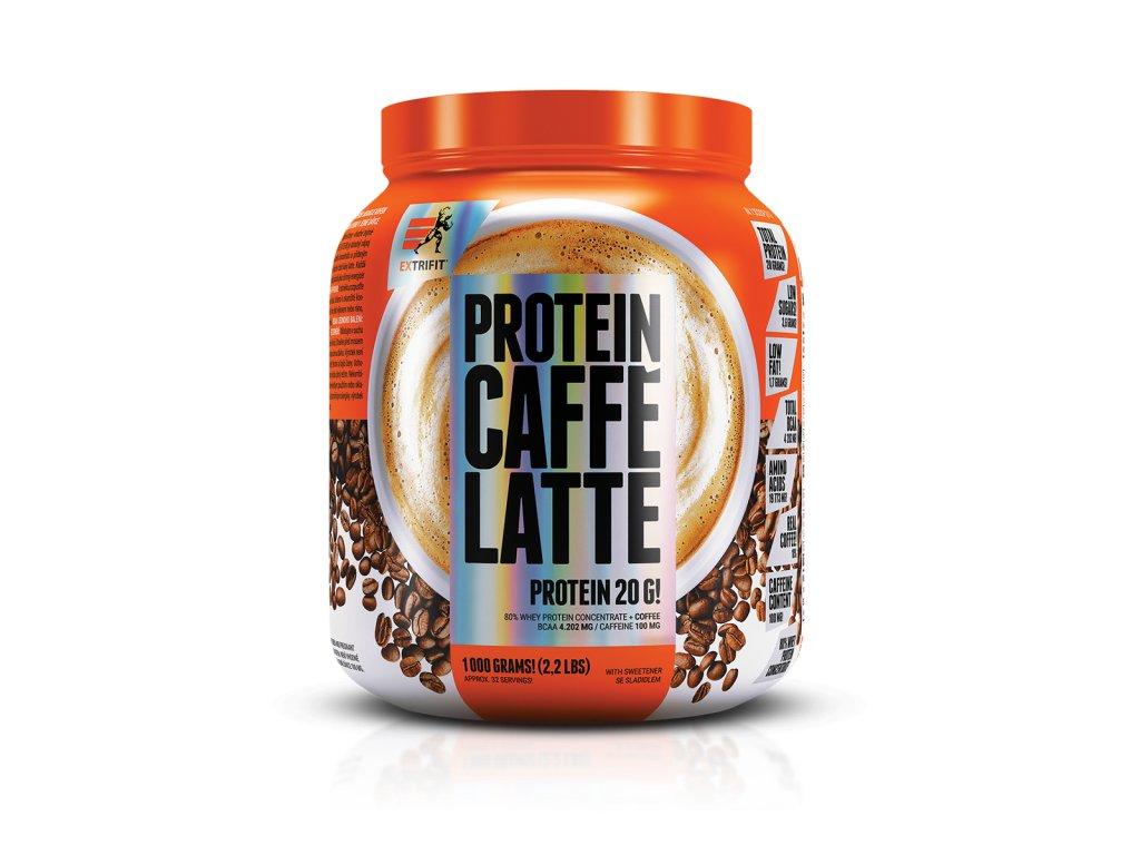 Protein Caffé Latte 80 (Balení 1000g, Příchuť Caffé late)