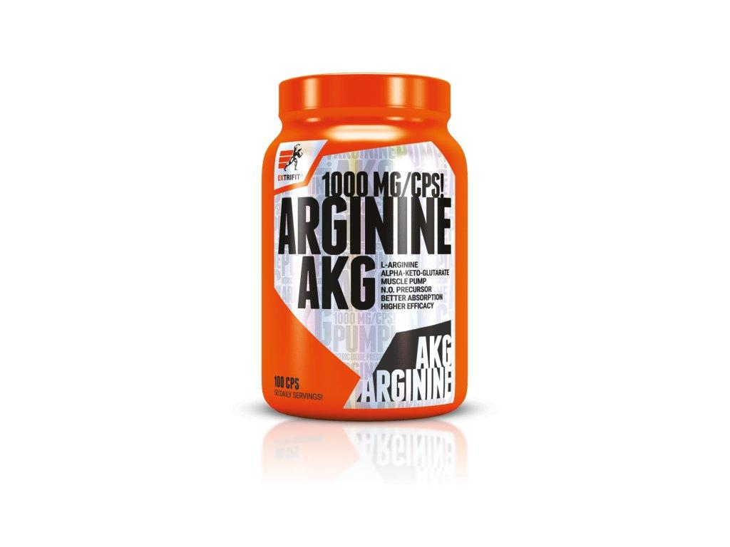 Arginine AKG 1000 mg (Balení 100 kapslí)