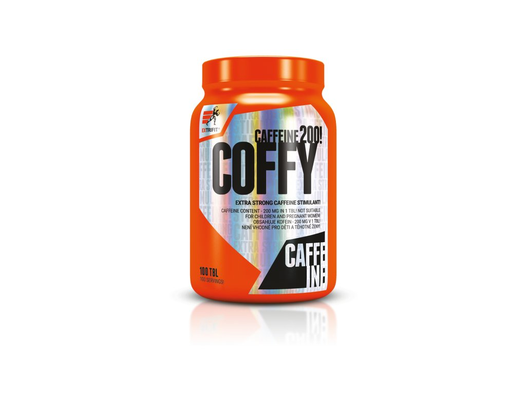 Coffy 200 mg Stimulant (Balení 100 tablet)