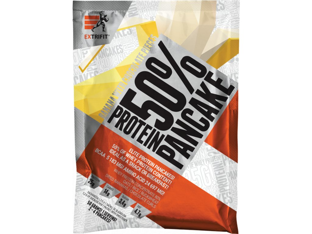 Protein Pancake 50 % (Balení 50g, Příchuť Kokos-čoko)