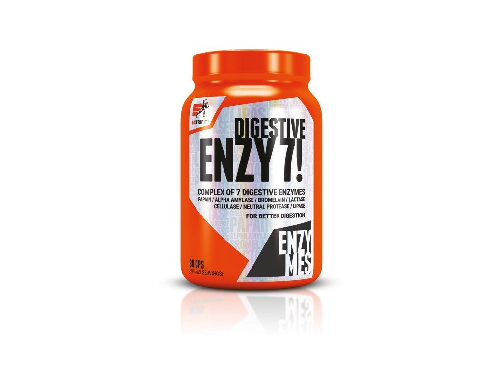 Enzy 7! Digestive Enzymes (Balení 90 kapslí)