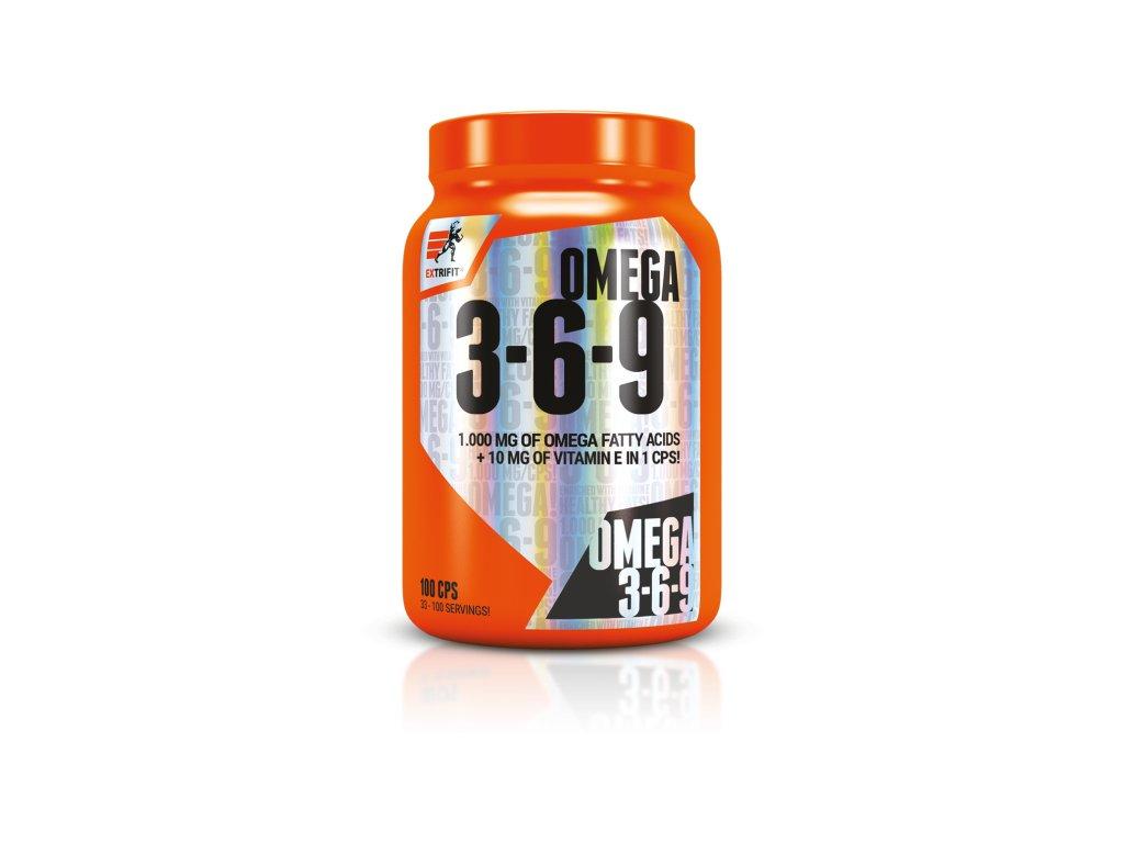 Omega 3-6-9 (Balení 100 kapslí)