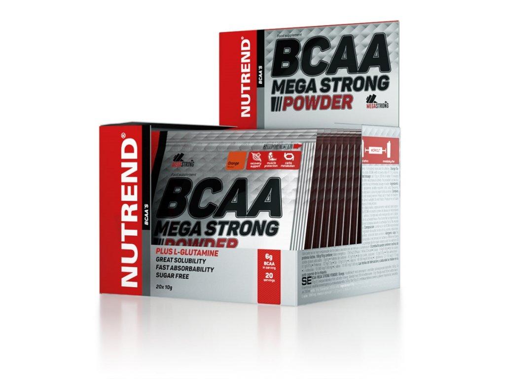 BCAA Mega Strong Powder (Balení 500g, Příchuť Višeň)