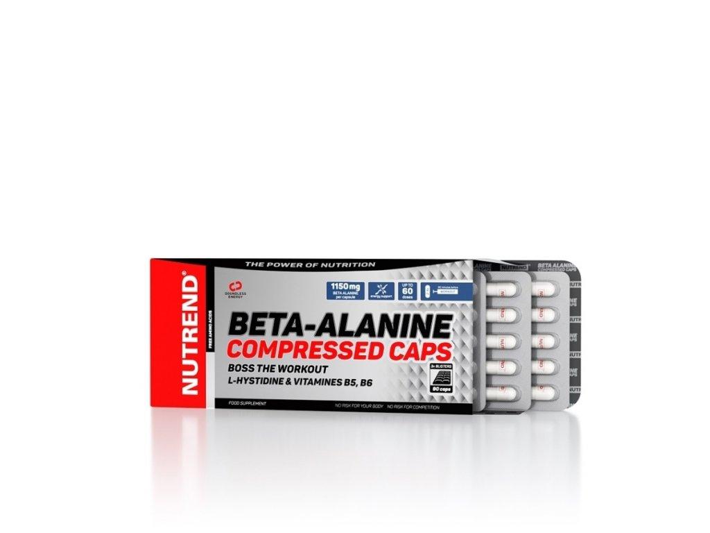 Beta-Alanine Compressed Caps (Balení 90 kapslí)