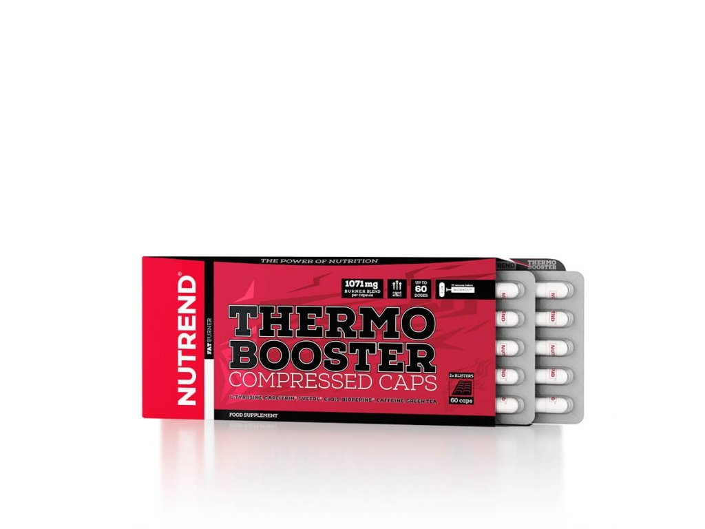 Thermobooster Compressed Caps (Balení 60 kapslí)