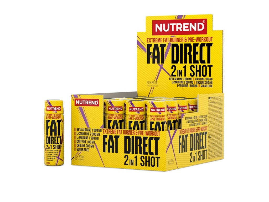 Fat Direct Shot (Balení 20x60ml)