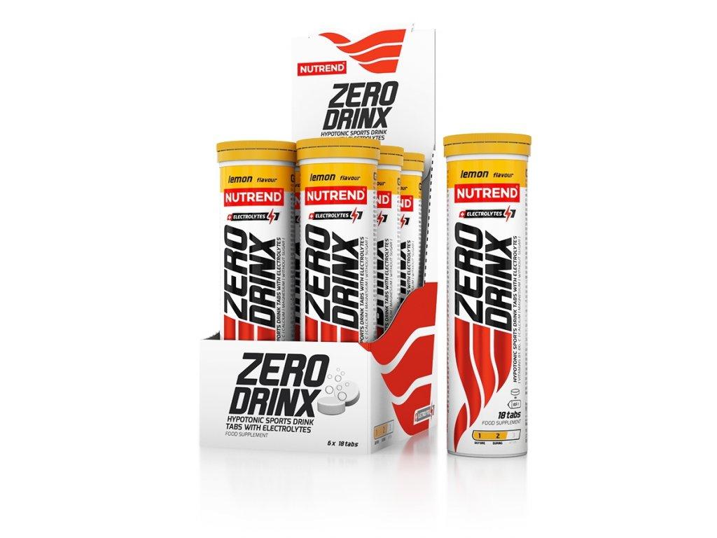 Zerodrinx Tabs (Balení 18 tablet, Příchuť Pomeranč)