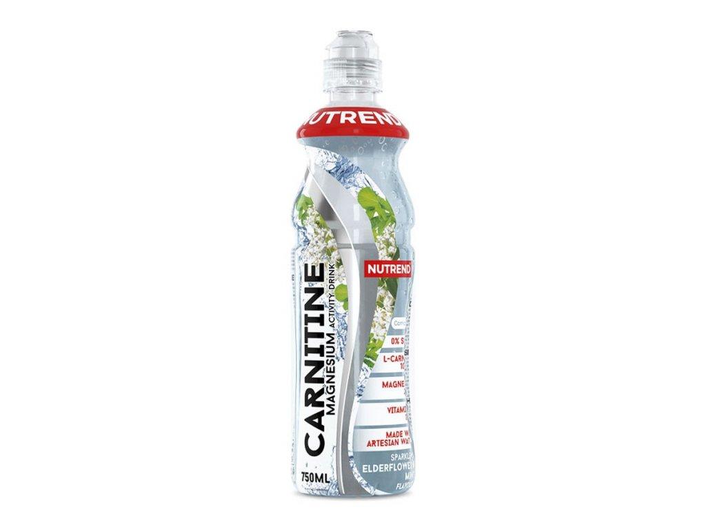 Carnitine Activity Drink (s hořčíkem) (Balení 750ml, Příchuť Bezinka-máta)