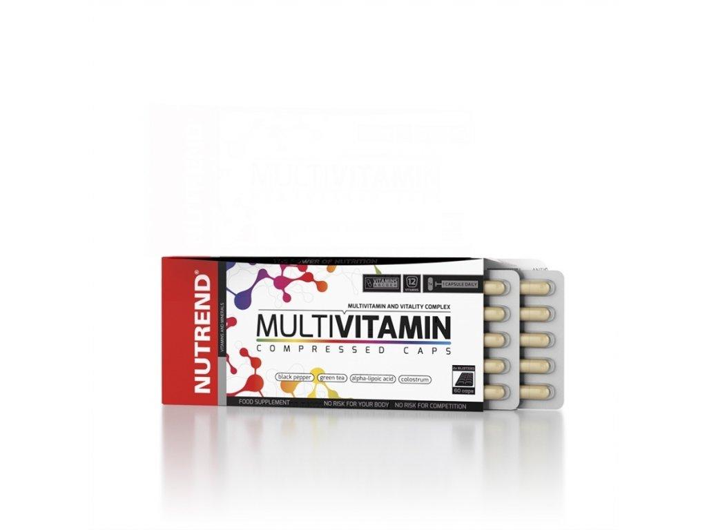 Multivitamin Compressed Caps (Balení 60 kapslí)