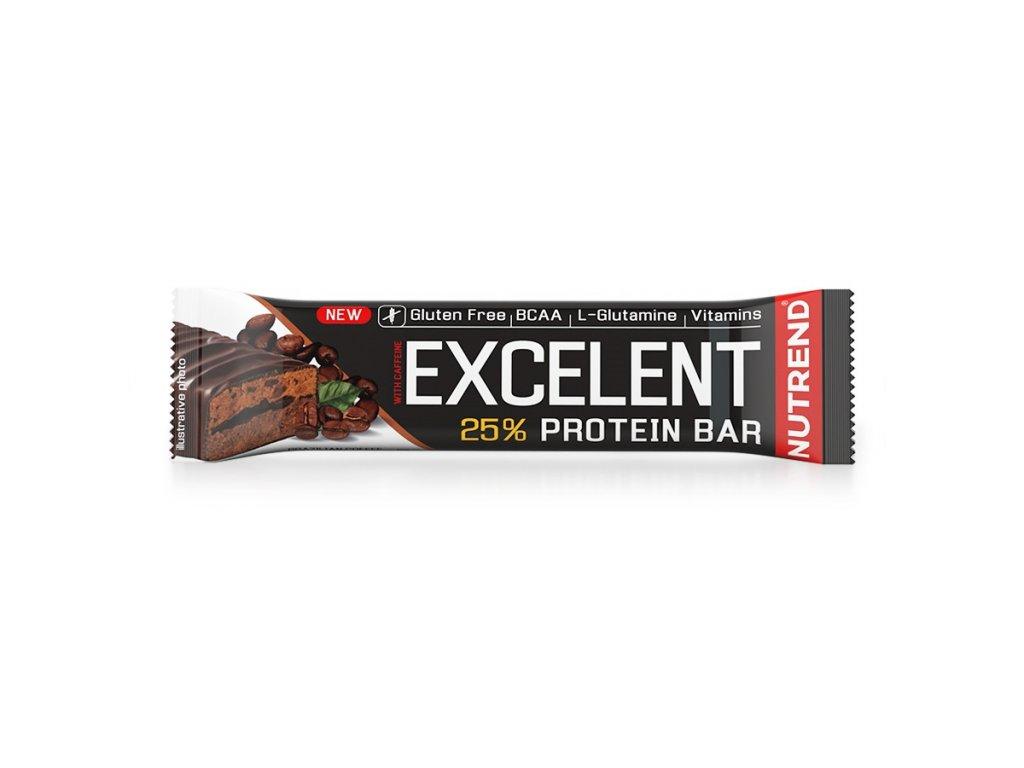 Excelent Protein Bar With Caffeine (Balení 85g, Příchuť Brazilská káva)