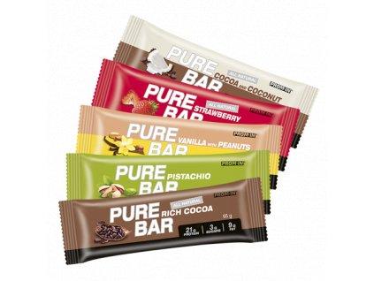 Essential Pure Bar (Balení 65g, Příchuť Vanilka)