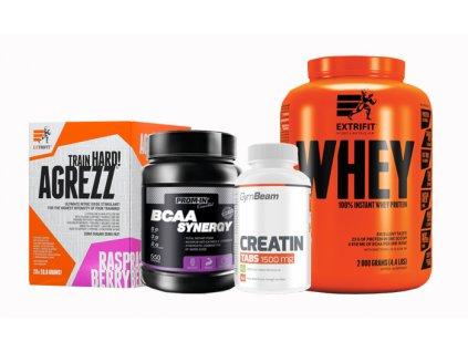 balíček pro budování svalové hmoty