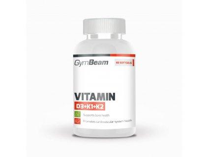 Vitamín D3+K1+K2 - GymBeam