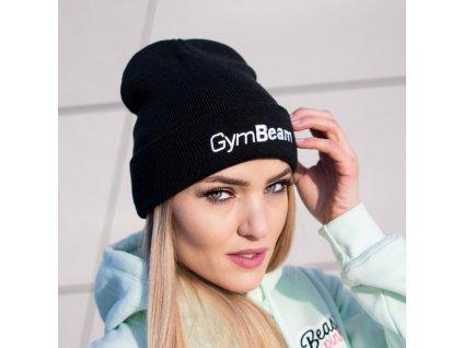 Zimní čepice Beanie Black - GymBeam