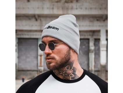 Zimní čepice Beanie Grey - GymBeam