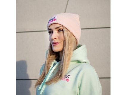 Zimní čepice Beanie Baby Pink - BeastPink