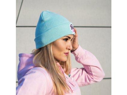 Zimní čepice Beanie Mint - BeastPink