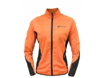 Bunda Extrifit dámská 47 (Barva oblečení Oranžová, Velikost XS)