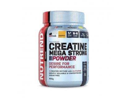Creatine Mega Strong Powder (Balení 500g, Příchuť Punč-lesní plody)