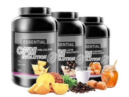 Essential CFM Evolution (Balení 1000g, Příchuť Vanilka)