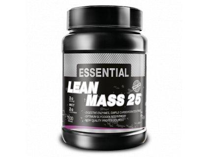Essential Lean Mass 25 (Balení 1500g, Příchuť Vanilka)