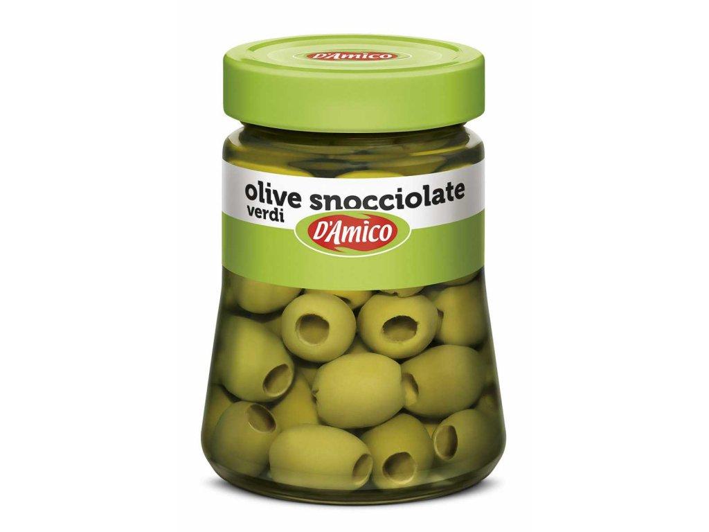 Olivy Zelené Vypeckované 290G D´Amico