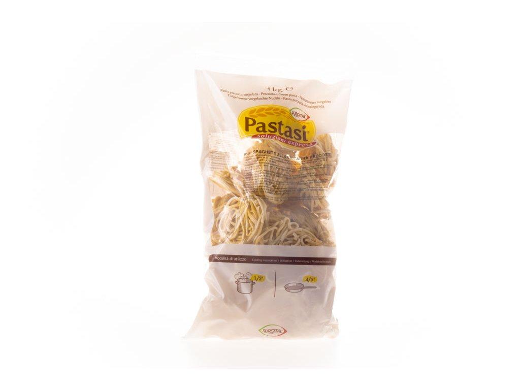 Spaghetti Chitarra Předv.1Kg Pastasi P506 Mražené Surgital