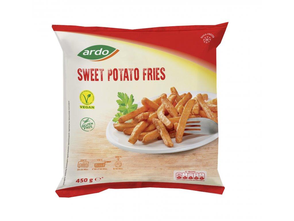 Mock up sweet potato fries450g