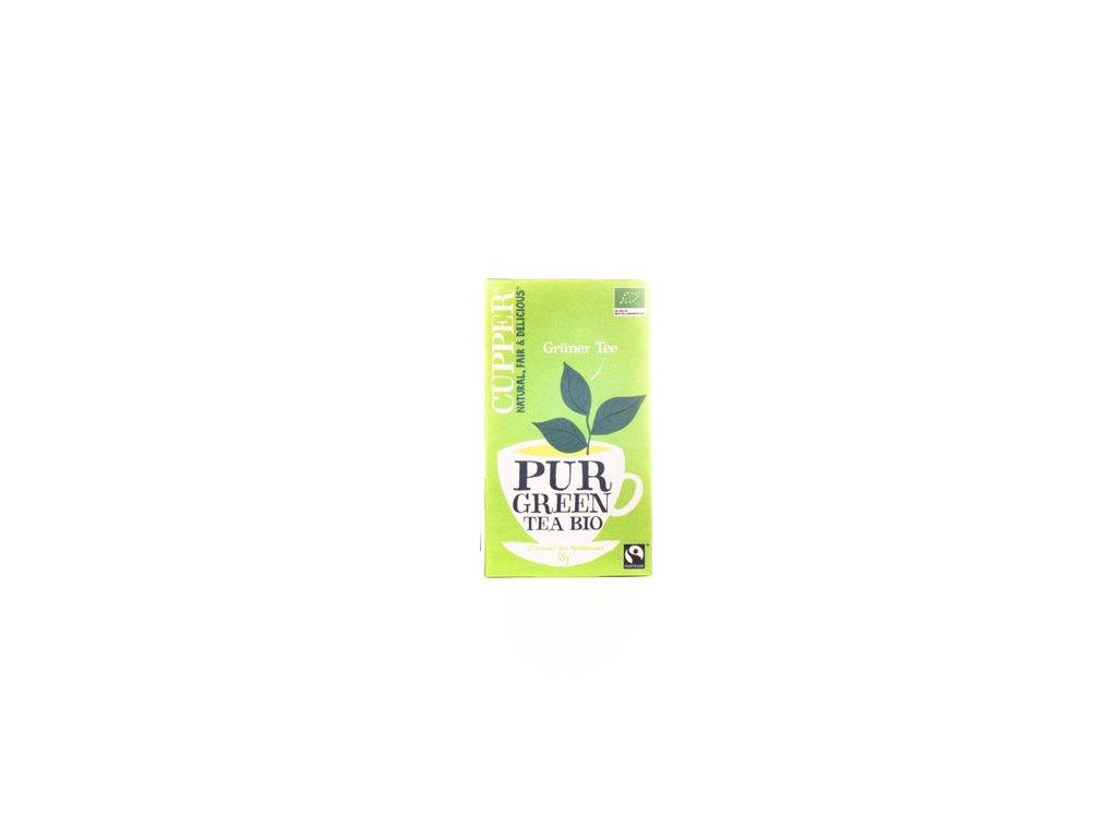 Cupper Zelený Čaj 35G (20Sáčků) Bio