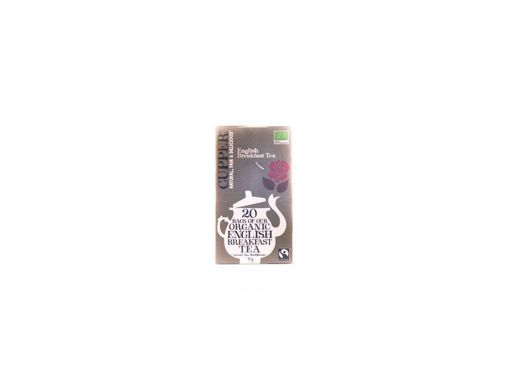 Cupper Černý Čaj English Breakfast 50G (20Sáčků) Bio